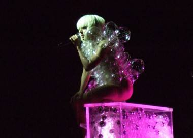 Lady Gaga at the Commodore Ballroom photo