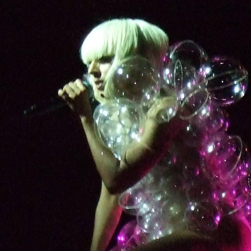 Lady Gaga at the Commodore Ballroom photo
