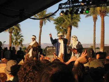 Tinariwen photo Coachella 2009