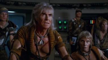 movie still from Star Trek - The Wrath of Khan