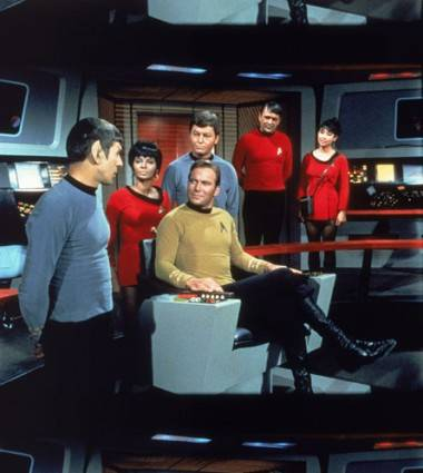 Cast of Star Trek original series