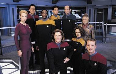 Cast of Star Trek Voyager