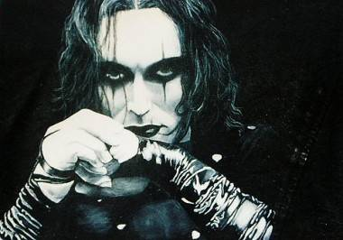 Brandon Lee as The Crow