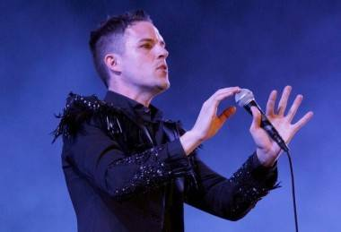 Brandon Flowers live at Coachella