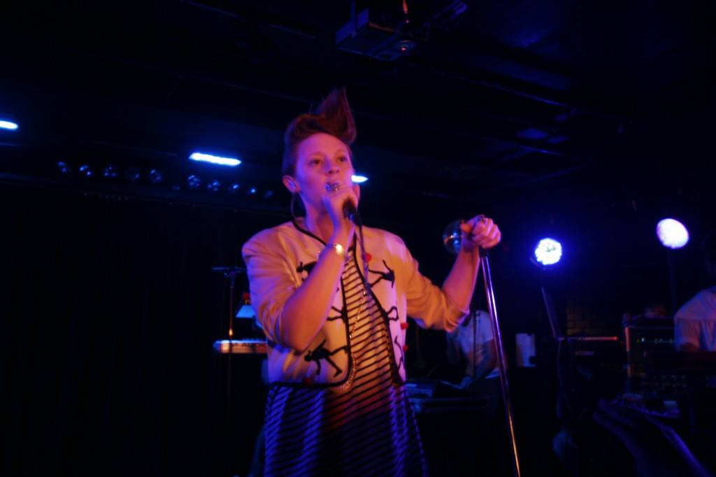 La Roux at the Biltmore Cabaret photo
