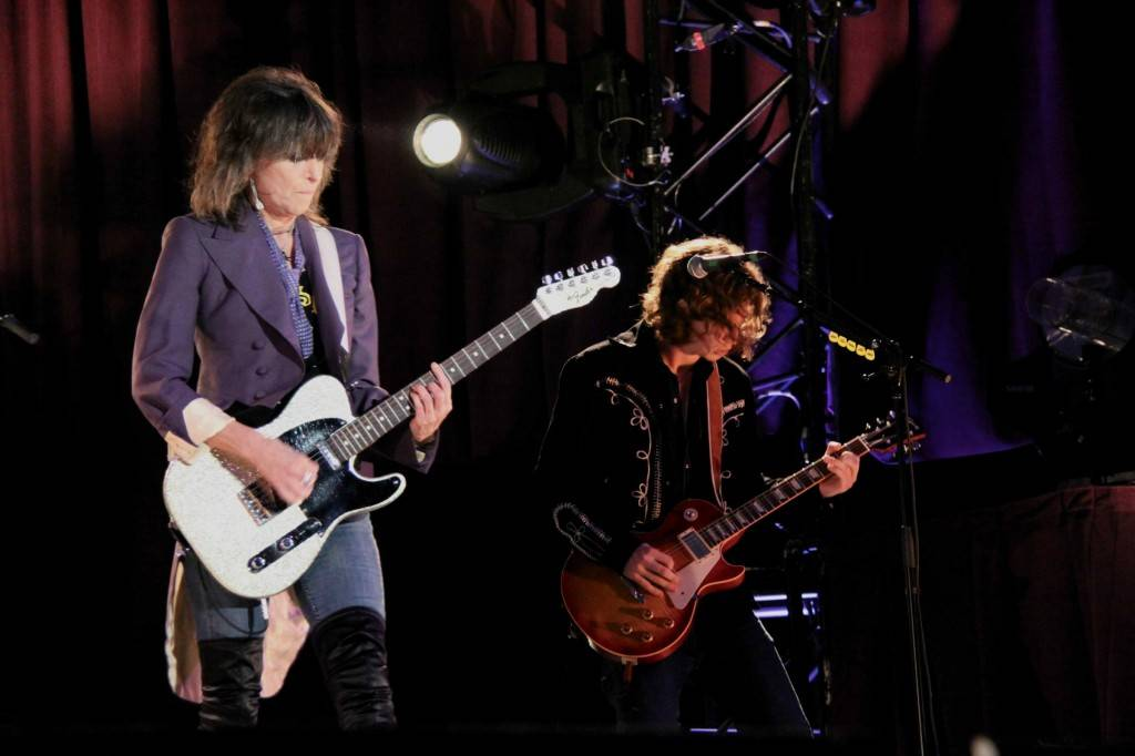 The Pretenders at Malkin Bowl 2009