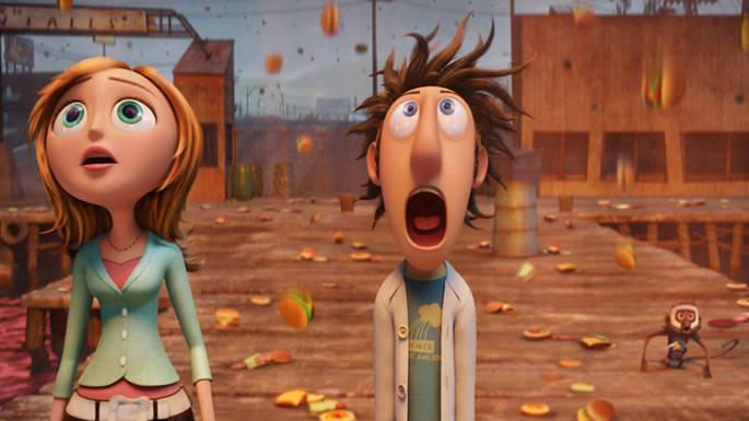 Cloudy With a Chance of Meatballs movie image.