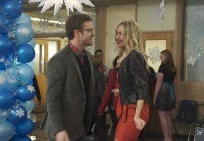 Justin Timberlake and Cameron Diaz in Columbia Pictues&#039; comedy &quot;Bad Teacher.&quot;