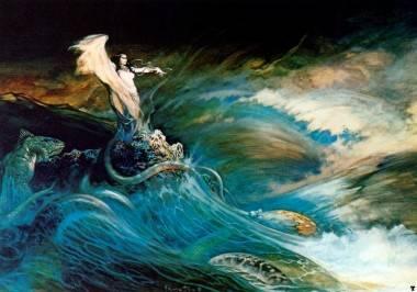 Sea Witch by Frank Frazetta.