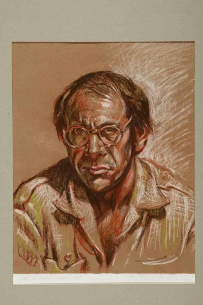 Rand Holmes self-portrait image