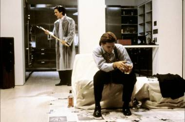 Scene from American Psycho (2000).