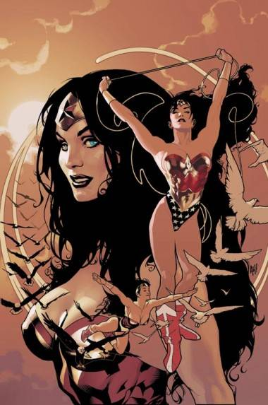 Wonder Woman Adam Hughes art