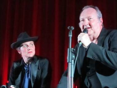 Randy and Evi Quaid at the Rio Theatre, Vancouver, April 22 2011. Rachel Fox photo
