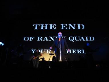 Randy Quaid at the Rio Theatre, Vancouver, April 22 2011. Rachel Fox photo
