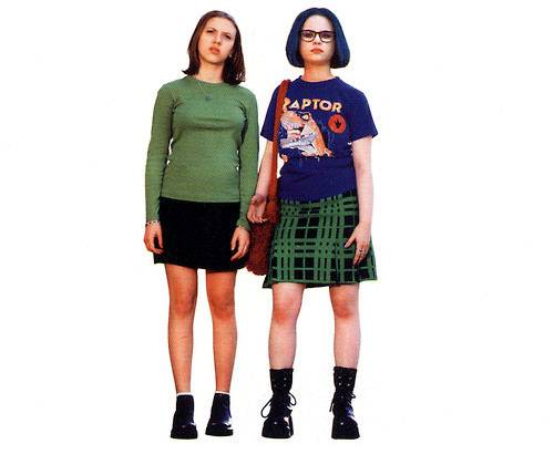 Thora Birch in the 2001 movie version of Daniel Clowes  Ghost WorldThora Birch Ghost World Green Hair