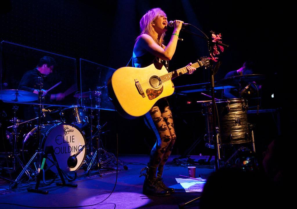 Ellie Goulding at Venue, Vancouver, April 10 2011. Ashley Tanasiychuk photo