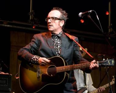 Elvis Costello at the Winnipeg Folk Festival, July 8 2009.