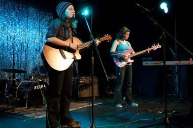 Girls Rock Camp fundraiser, Vancouver, April 7 2011. Ashley Tanasiychuk photos
