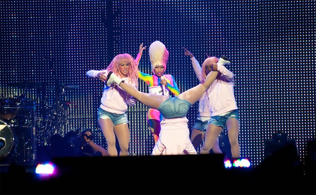 Nicki Minaj at Rogers Arena, Vancouver, April 27 2011. Ashley Tanasiychuk photo
