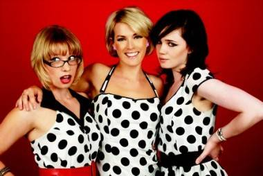 The Pipettes 2008 including Gwenno Saunders