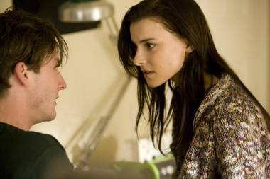 Jesse Moss and Emma Lahana in Dear Mr. Gacy