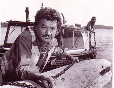Bruno Gerussi in The Beachcombers