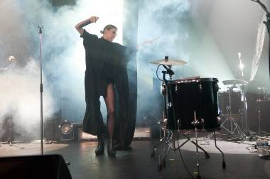 Lykke Li at the Vogue Theatre, Vancouver, May 27 2011. Ashley Tanasiychuk photo