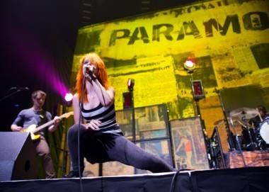 Paramore at GM Place July 18 2009.