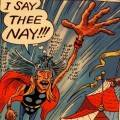 Tony Millionaire&#039;s Thor story in Strange Tales II.