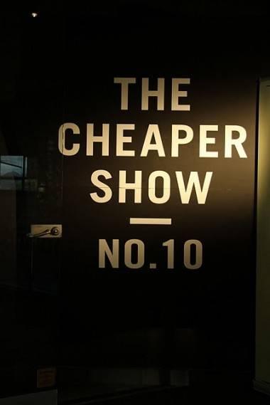 Cheaper Show 10 sign