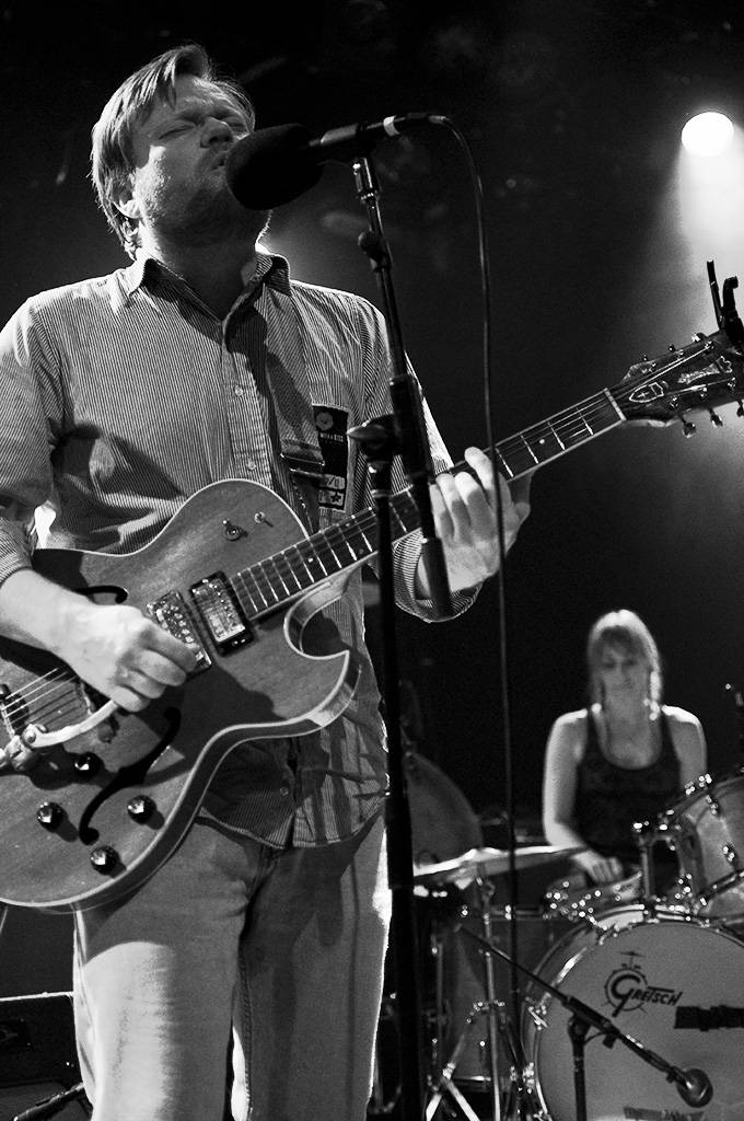 Frog Eyes at the Commodore Ballroom, May 30 2011. Ashley Tanasiychuk photo