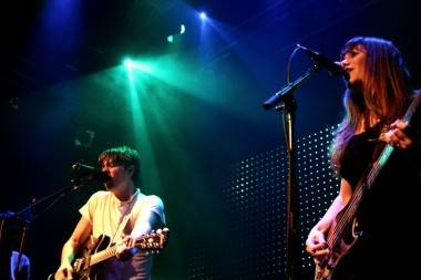 Jenny and Johnny at Venue, Vancouver, May 29 2011. Anja Weber photo