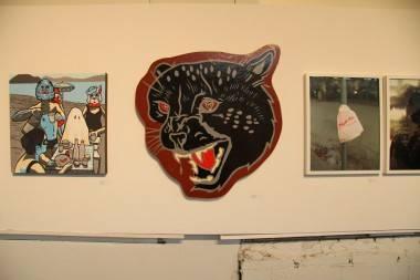 Art by Penny Jo Buckner at Cheaper Show 10. Robyn Hanson photo