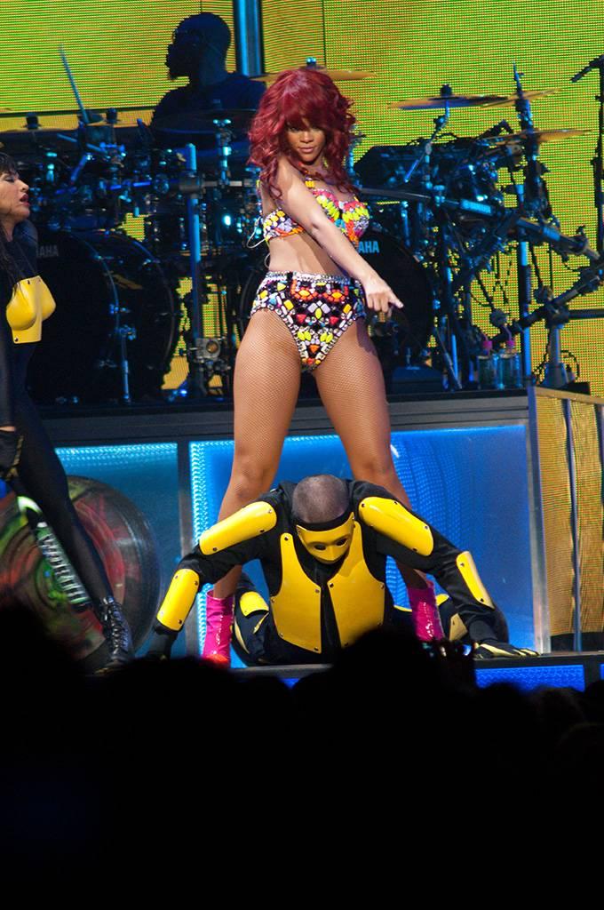 Rihanna at Rogers Arena, Vancouver, June 24 2011. Ashley Tanasiychuk photo