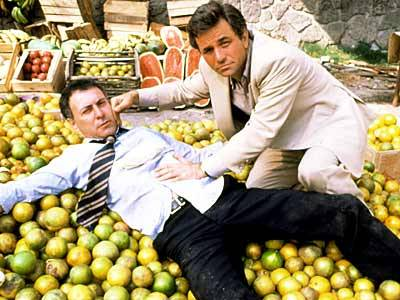 Peter Falk and Alan Arkin in The In-Laws.