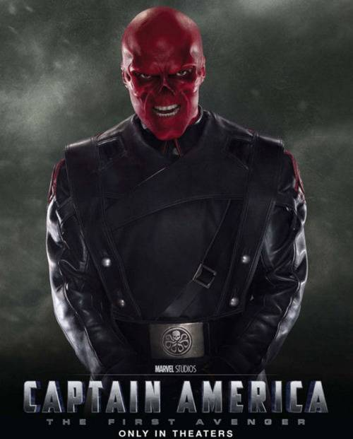 Captain America Movie 1990 Red Skull