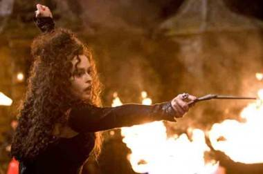 Helena Bonham Carter in Harry Potter and the Half Blood Prince.