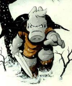 Cerebus illustration