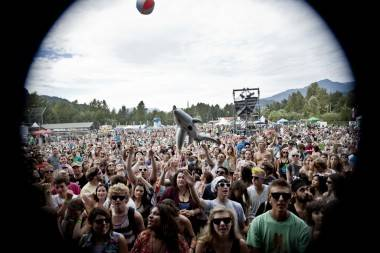 Crowd shot Live at Squamish day 2