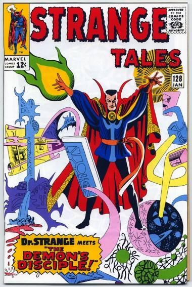 Dr. Strange cover by Steve Ditko