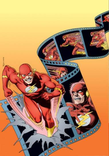 The Flash. Art by Brian Bolland