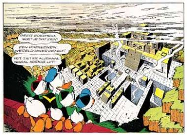 Carl Barks Donal Duck: Lost in the Andes