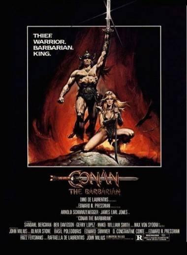 Conan 1982 movie poster.