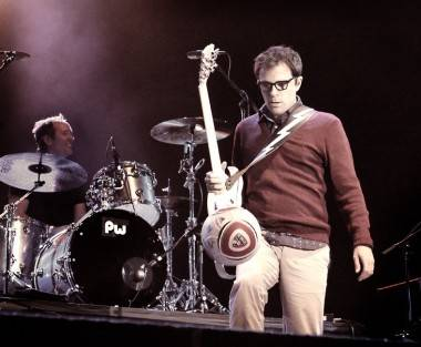 Rivers Cuomo Live at Squamish, Aug 21 2011. Tamara Lee photo