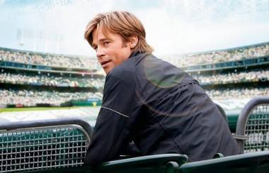 movie photos Moneyball Brad Pitt