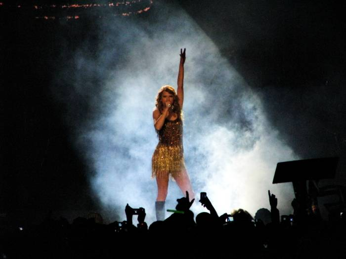 Taylor Swift at Rogers Arena, Vancouver