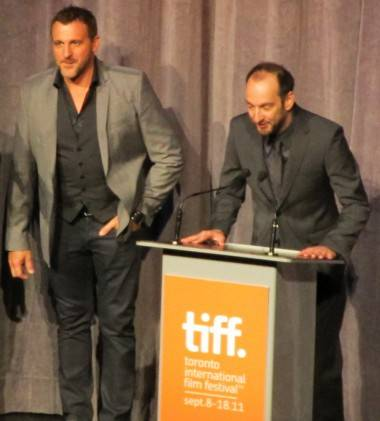 Patrick Huard and Ken Scott at TIFF