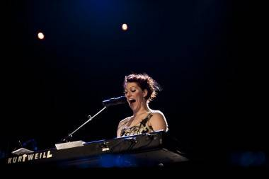 Amanda Palmer at the Vogue Theatre photo