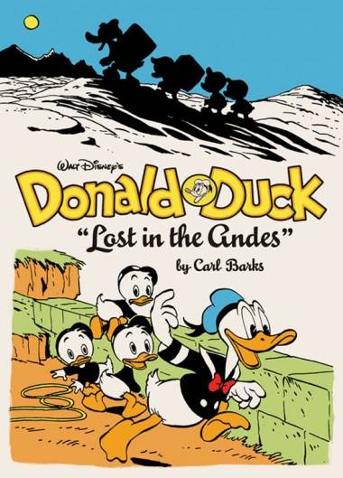 Cover image Fantagraphics Donald Duck Lost in the Andes