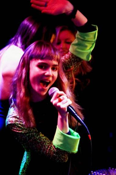 Claire Boucher aka Grimes at Electric Owl photo